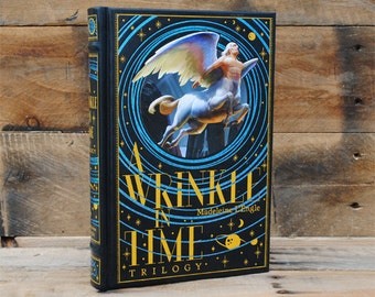 Book Safe - A Wrinkle in Time - Leather Bound Hollow Book Safe