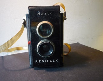Vintage- Ansco Rediflex - 1950 Collectible - gift for camera lovers photographers - prop