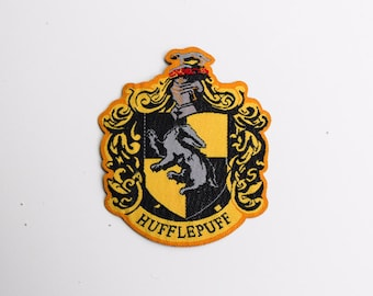 Harry Potter Hogwarts House Hufflepuff patch - iron-on 3 inch patch