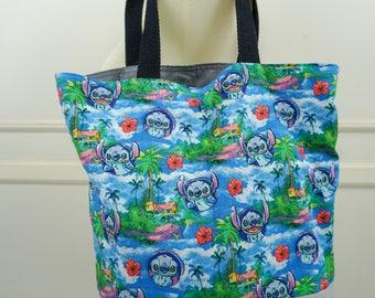 Kawaii Stitch Reusable Bag/Reusable Tote (Small)