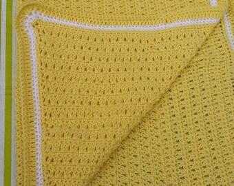 Crocheted baby blanket, baby blanket, crib blanket, stroller blanket, cot blanket, pram blanket