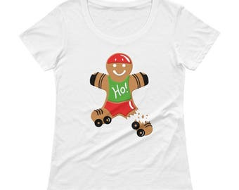 Holiday Break - Womens Scoop Neck Tee