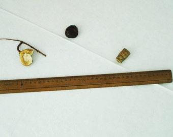 Vintage Wooden Ruler/ Soviet Era Ruler/ Wooden Measurement Tool/ School Ruler/Architect Wooden Tool/Office Decor/Collectable/Gift Idea