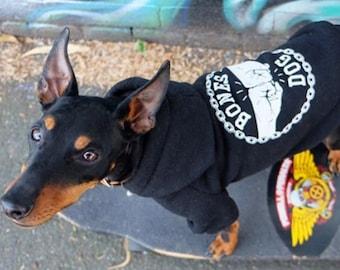 Dog Hoodie / Dog Sweatshirt / Black Dog Hoodie / Printed Dog Hoodie / Cool Dog Hoodie / Dog Sweater / Dog Jacket