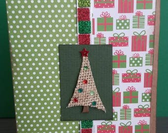 Oh Christmas Tree! Holiday Card - set of 4/Christmas Cards/Cardstock/Blank Card