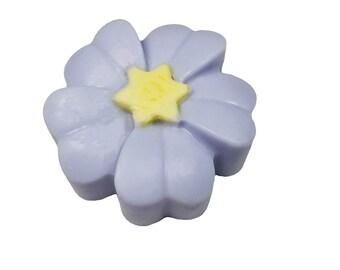 Purple Flower Soap-Valentine Soap-Mother's Day Soap-Glycerin Soap-Spring Soap-Children Soap-Girl Soap-Father's Day Soap-Flower Soap