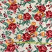 Special request for Dana Ponte de Roma floral knit fabric 4 yards
