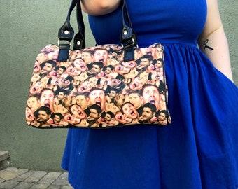 Handbag made with Supernatural-Dean Winchester fabric