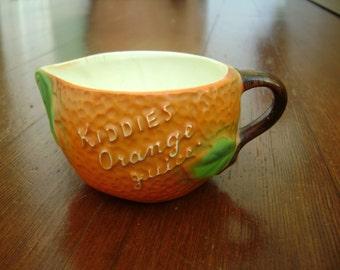 little kiddies orange juice pitcher