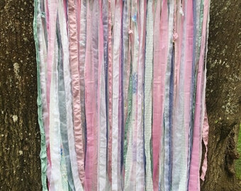 "Long Fabric Garland ""Prissy"""