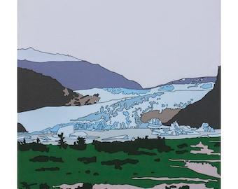 Mendenhall Glacier, Aggregate Landscape Series