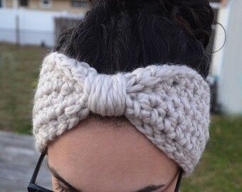 Chunky Toasty Cinched Earwarmer - Size Adult - *MADE TO ORDER*