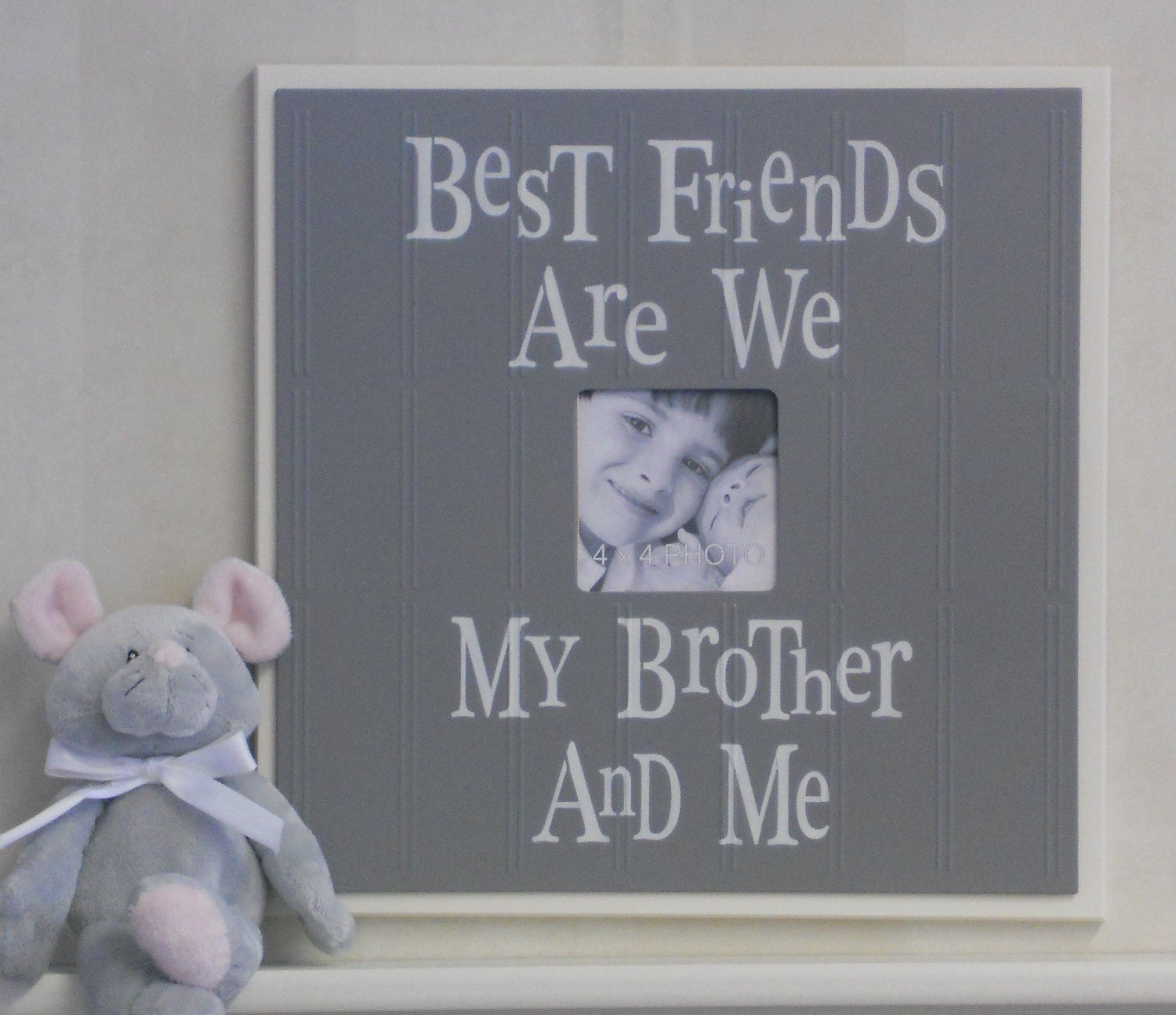 Brothers Picture Frame | Best Friends Are We My Brother And Me ...