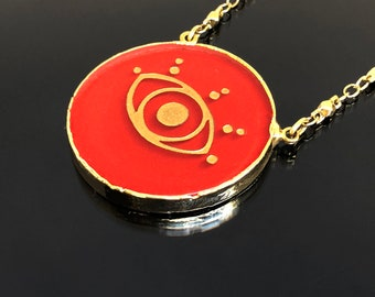 Evil Eye Necklace. Evil Eye Jewelry. Evil Eye Pendant. Red Necklace. Red Jewelry. Gift for Her. Gift ideas for Women. Mothers Day. Spiritual