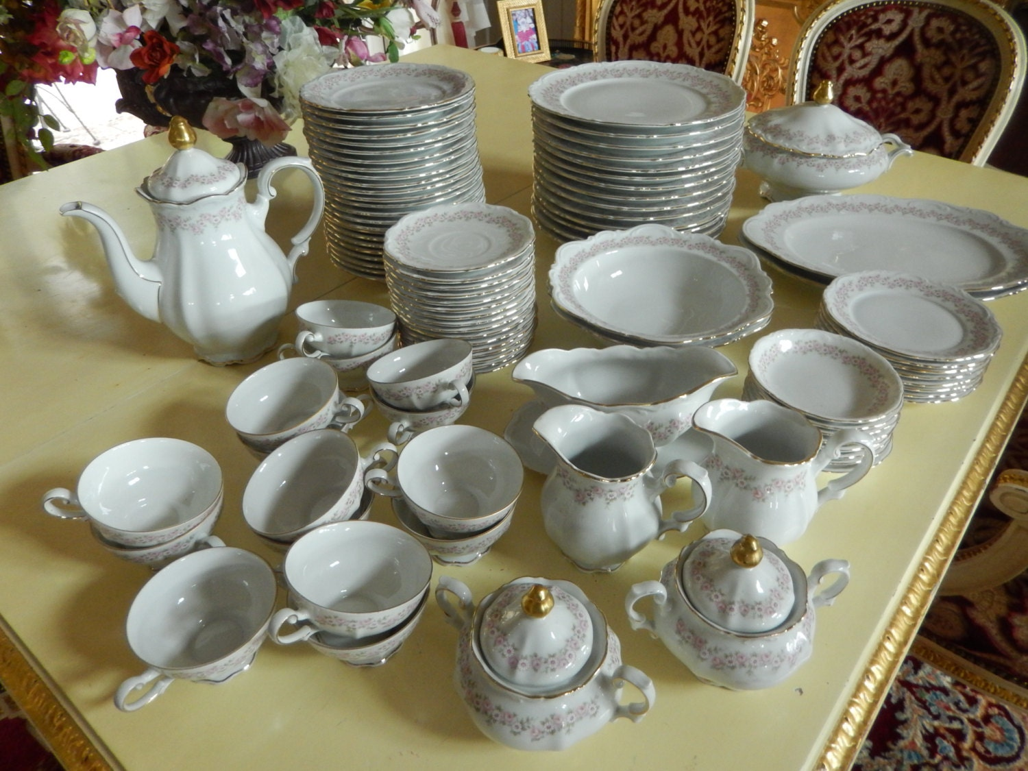?zoom & GERMANY CHINA DINNERWARE Mitterteich Bavaria Lady