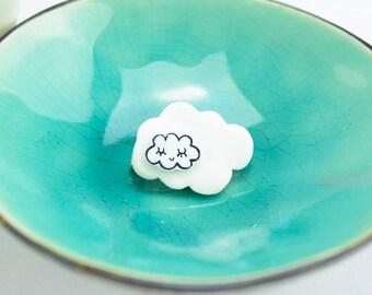 Cloud Brooch