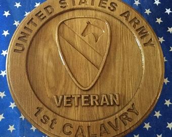 United States Army 1st Calvary Veteran
