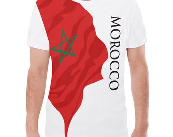 Morocco Men's Classic Flag Tee 2.0