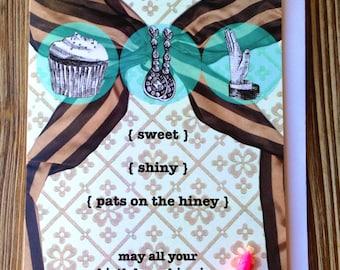 Happy Birthday Card Funny Birthday Card - Sweet Birthday Card for Friend