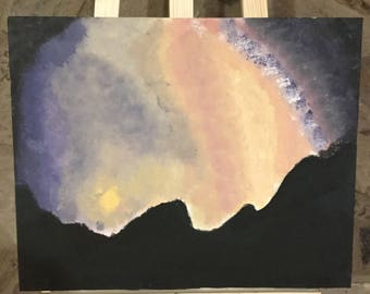 Galaxy Sunrise Painting