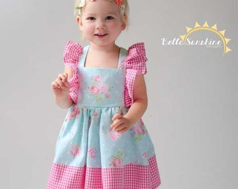 Juliet, Flutter Dress, girls dress pattern, PDF Sewing Patterns, girls flutter dress, sewing patterns, girls dress pdf, girls dresses, dress