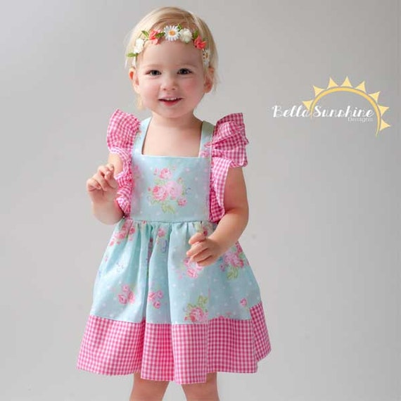 Juliet, Flutter Dress, girls dress pattern, PDF Sewing Patterns ...