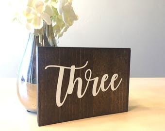 Wooden Table Numbers, Wood Table Numbers, Wedding Table Numbers, Rustic Wedding Table Numbers, Rustic Wood Table Numbers, Table Numbers