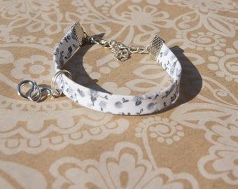 Bracelet liberty gray snake