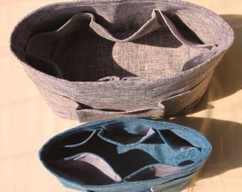 Purse Insert, Customized Color Size Label, Tote Bag Organize, Cosmetic Organizer, Makeup Organize Bag, Diaper Handbag