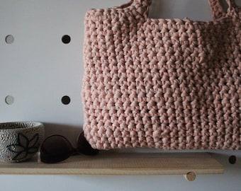 Chunky Crochet Tote
