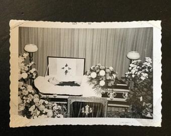 Postmortem Vernacular Photograph, Ca: 1962