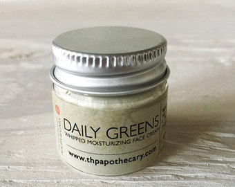DAILY GREENS, Face Moisturizer, Travel Sized Products, Skin Care, Face Moisturizer, Normal to Dry Skin, 0.5 oz