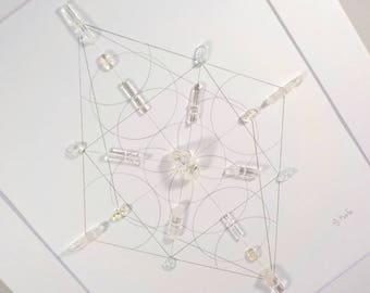 Crystal Grid - BRILLIANCE - Sacred Geometry