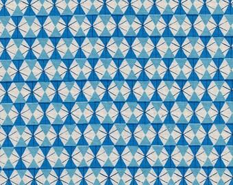 Cotton and Steel Chicken Wire Bright Blue