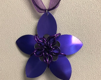 Scale Maille - Purple Bloom