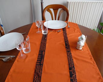 Table runner orange 60 x 135