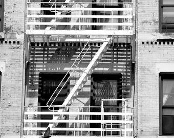 "New York City Inspired Fine Art Photography 8""x10"" - Firescape"