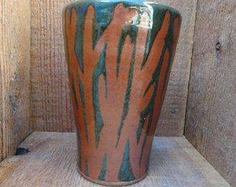 "7.5"" Handmade Ceramic Vase - Stoneware"