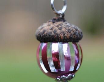 Handmade  Acorn Pendant