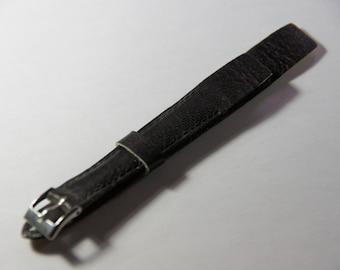 Watch Buffalino 14 mm wide leather bracelet