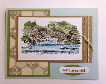 Stampin' UP! Watercolor Bridge Card Kit