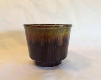 Vintage USA California Original Drip Glaze Planter