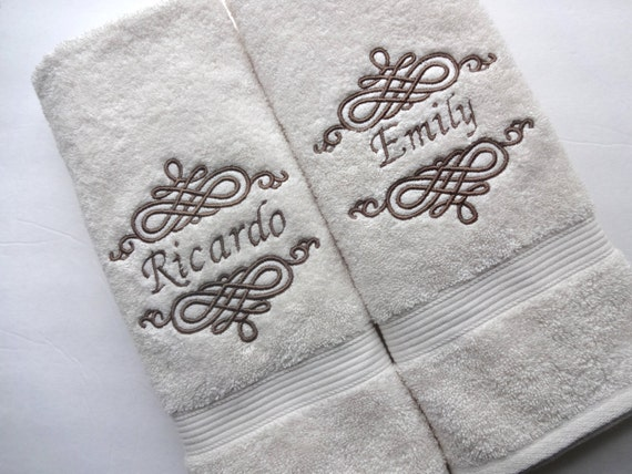 Personalized Baptism Christening Hand Towel, Baptism Towel, Personalized  Towel, Custom Embroidered Towel,