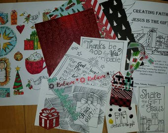 Jesus is the Gift Devotional kit