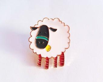 I Love Ewe! Sheep Enamel Pin - Flair