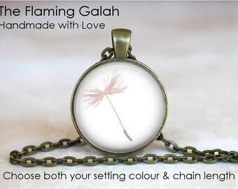 DANDELION Pendant • Simple Dandelion Charm • Wild Dandelion • Make a Wish Dandelion • Gift Under 20 • Made in Australia (P1594)