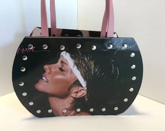 Olivia Newton-John - Physical vinyl record purse