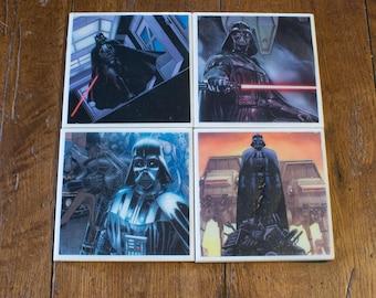 Star Wars Darth Vader Coaster 4-Pack