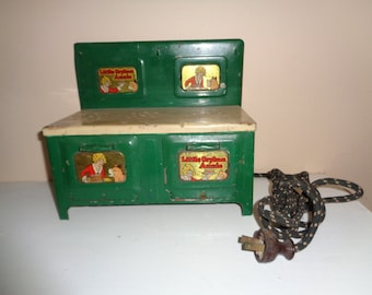 Marx Vintage Little Orphan Annie Electric toy stove