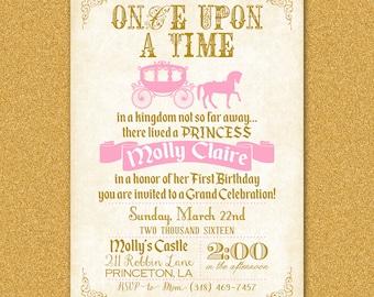 Fairy Tale Birthday Invitation Fairy Tale Invitations